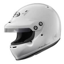 Arai GP-5W Snell 2015 HANS Compatible Race / Rally Helmet In White - 11637-2015
