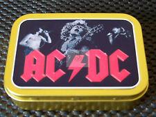 AC-DC 1 and 2oz Tobacco/Storage Tins