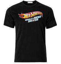 Hot Wheels World's Best Driver - Graphic Cotton T Shirt Short & Long Sleeve