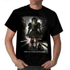 t shirt Clown It 2017 Stephen King t-shirt film GEORGIE Inquietante Spaventoso