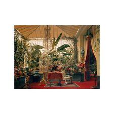 Quadro su Pannello in Legno MDF Charles Giraud Veranda de la Princesse Mathilde