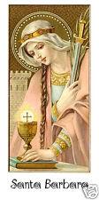 SANTINO HOLY CARD SANTA BARBARA n 3