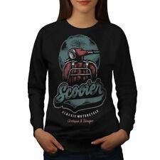 Vintage Scooter Women Sweatshirt NEW | Wellcoda