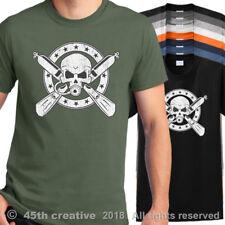 Scuba T Shirt scuba diver skull open water t-shirt scuba diving crossbones shirt
