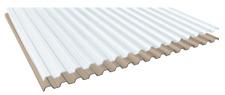 PVC Lichtplatten Profil 70/18 - Trapez Spundwand  1,4 mm klarbläulich / bronze