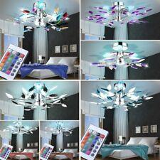 LED feuilles Plafonniers VARIATEUR RGB Lampe avec télécommande lustre éclairage