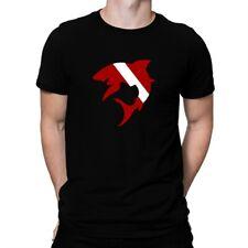 Diver down Shark Scuba Diving T-shirt