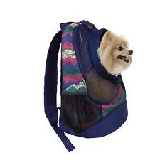 Dog Cat Carrier Mesh Outdoor Backpack Pet Knapsack Puppy Travel Bag Medium Size