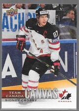 17/18 UD Team Canada Canvas TCC-1 - TCC-55 U Pick From List