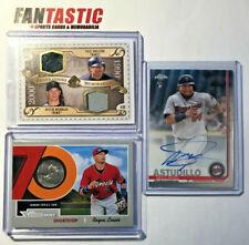 Minnesota Twins Player Relic & Autograph Card YOU PICK Molitor Morneau etc Auto