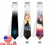 Necktie Neck Tie Zelda Breath Wild Video Game Unique Gift #1