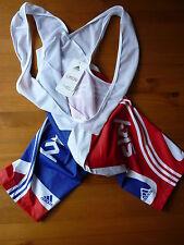 Gran BRITAIN Cielo/Ciclismo mono Pantalones Cortos X-Large (tamaño 5) Nuevo con etiquetas