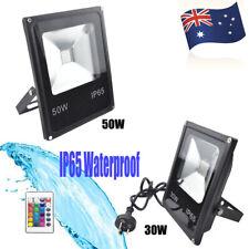LED Flood light 30W 50W RGB Wall Washer Light Color Changing Floodlight Sidewalk