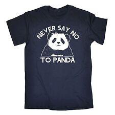 Never Say No To Panda T-SHIRT Bear Cute Awesome China Joke birthday fashion gift