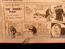 1st Original Spiderman Comics Strip Chinatown Wheelan 1922