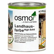 Osmo Landhausfarbe High Solid 2,5 Liter Naturöl Deckfarbe Holzschutz FARBWAHL