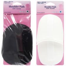 Hemline 1 Pair Shoulder Pads For Shirt / Blouse Small Raglan Shaped