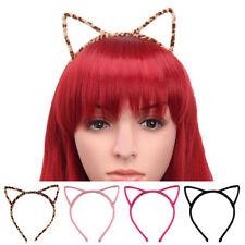 Cute Cat Ear Headband Felt Metal Hairband Costume Fancy Cosplay Hen Party Gift