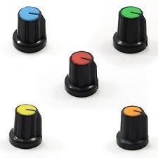 6mm in Plastica Manopola per Potenziometro TAPPO ALTA 15.5mm