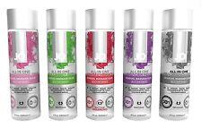 System JO All-In-One Sensual Massage Glide 4 oz - Select Flavor