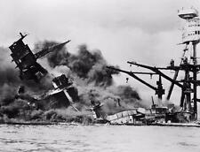 USS ARIZONA PEARL HARBOR GLOSSY POSTER PICTURE PHOTO attack ship 1941 war 2245