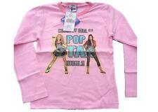 T-shirt maglia manica lunga bimba Hannah Montana Pop star *13405