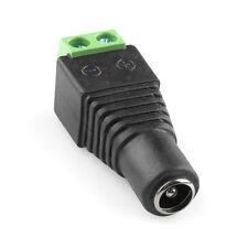 Connecteur Jack Alimentation Femelle - 2.1mm x 5.5 mm - Sans Soudure