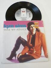 "KYM SIMS - Take My Advice - 1992 UK 7"""