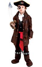 Caribbean Boy Pirate Buccaneer Swashbuckler Toddler Child Costume