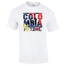 Colombia Football Pablo Escobar Futbol World Cup Colmbian Premium T-Shirt S-5XL