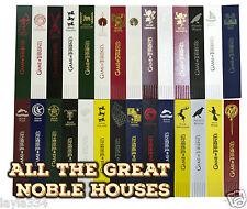 Game of Thrones Bookmark (bonded Leather) House Stark, House Targaryen + more
