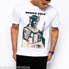 Shaka Zulu t shirt, Africa, Black Panther, Malcolm X, MLK, Ferguson, Mandela