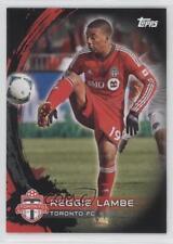 2014 Topps MLS Black #156 Reggie Lambe Toronto FC Soccer Card