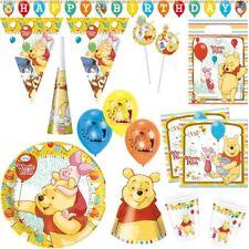 Winnie the Pooh Cumpleaños Niños Fiesta Decoración Temática PU Oso
