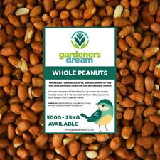 GardenersDream Whole Peanuts - Fresh Premium Wild Bird Seed Garden Food Nut Feed
