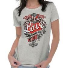 Ohio The Buckeye State Fashion Souvenir OH Womens Tees Shirts Ladies Tshirts