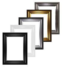 Ampia gamma di Bucarest Telaio Cornice Foto Cornice, nero bianco, cromo oro