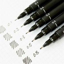 """1Pcs*Uni Pin Drawing Pen Fine Line 005 01 02 03 05 08 Needle pen POPs"""""""