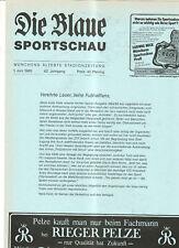 BL 84/85  FC Bayern München-1.FC Kaiserslautern (Blaue)