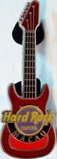Hard Rock Hotel MACAU 2009 2-Tone Red Metal GUITAR PIN - HRC Catalog #51595