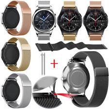 Universal Milanese Loop Magnetic Wrist Watch Band Strap Metal Wristband 20 22mm