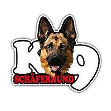 Auto Aufkleber Sticker SCHÄFERHUND K9 Hund Hunde fun Wilsigns SIVIWONDER