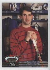 1992-93 Topps Stadium Club #389 Rich Sutter St. Louis Blues Hockey Card