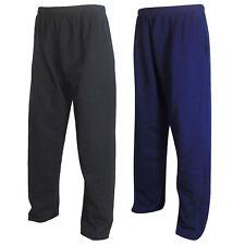 Nuevo Para Hombre De Chándal Pantalones Deportivos Chándal Polar Pantalones Pantalones De Grande Tallas