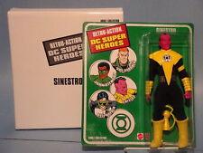 RETRO-ACTION DC SUPERHEROES SINESTRO FIGURE! NM!