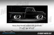 BIG BANNER 55-57 Chevy / GMC Truck Chevrolet 1955 1956 1957 step side pickup