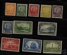 Canada  149-159 Mint most NH  catalog  $860.00
