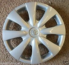 "Genuine Toyota Corolla Hub cap 09 10  11 for 15"" wheel SILVER EMBLEM"