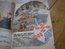 GOLDRAKE ALL'ATTACCO GIOCO MATTEL PUBBLICITA SU TOPOLINO 1978