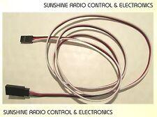 RC 1000mm Servo Extension Lead Wire Cable For Futaba JR Hitec Spektrum Servos